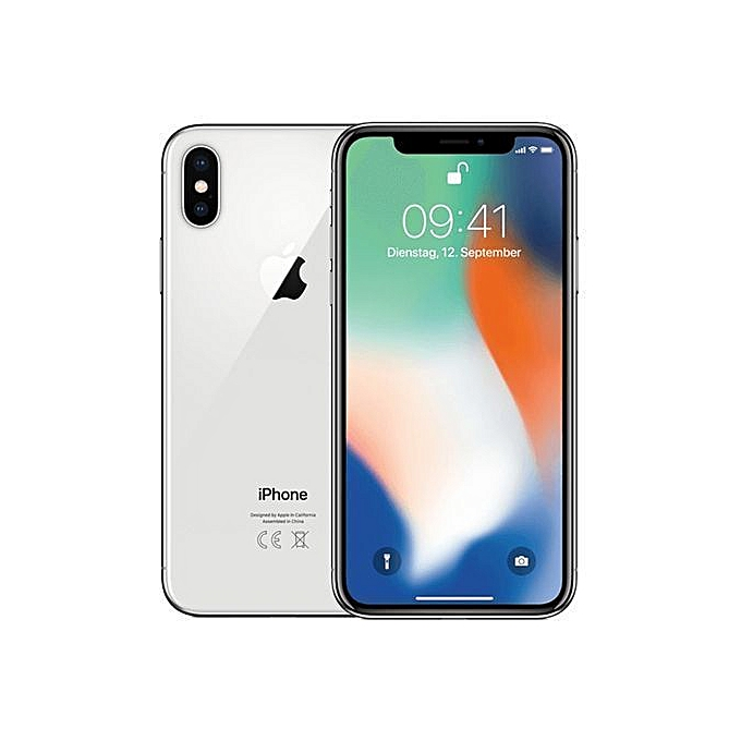 Buy Iphone X 256gb Silver And Free Pouch And Tempered Glass In Nigeria Rehmie Com